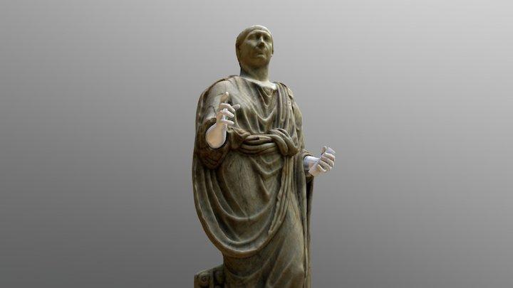Escultura Colosal de Trajano 3D Model