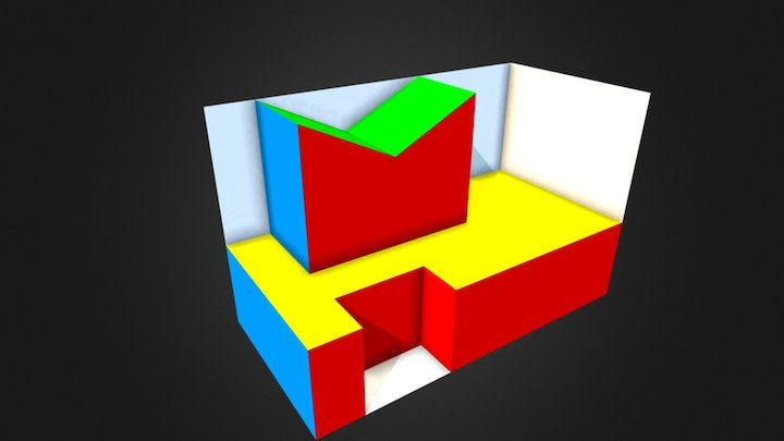 Obj02 B 3D Model