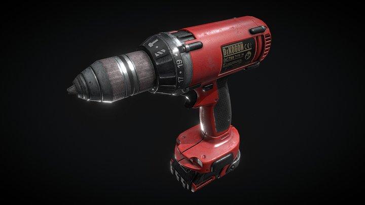 Dekogon - Electric Drill 3D Model