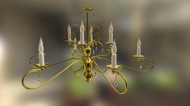 Chandelier II 4 3D Model