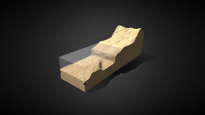 Topografia Ica 3D Model
