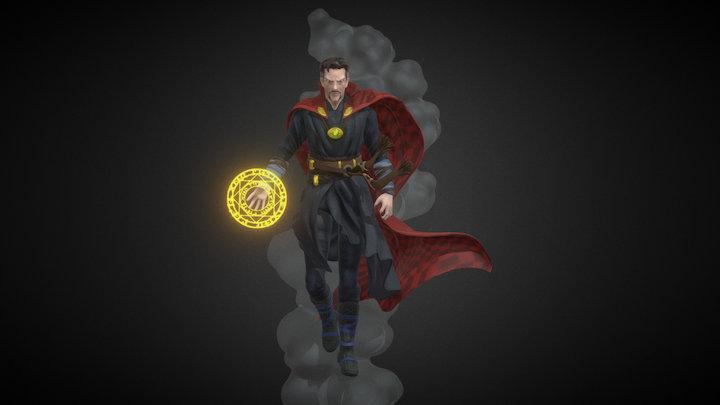 Doctor Strange statue 3D Model