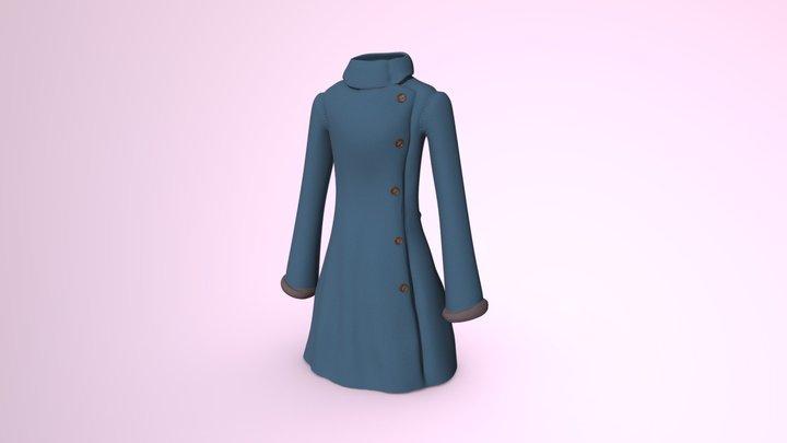Winter Coat | 01 #3December 2018 3D Model