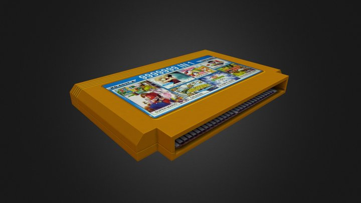Cartridge 3D Model