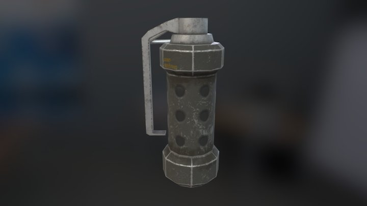 Simple Flashbang - Free to use 3D Model