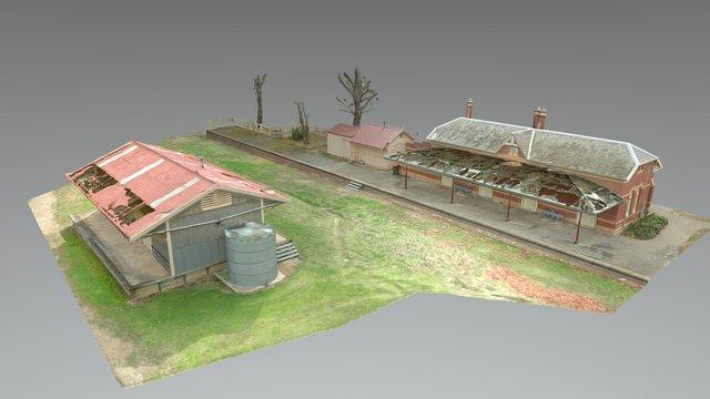 Yea Railway Station 3D Model