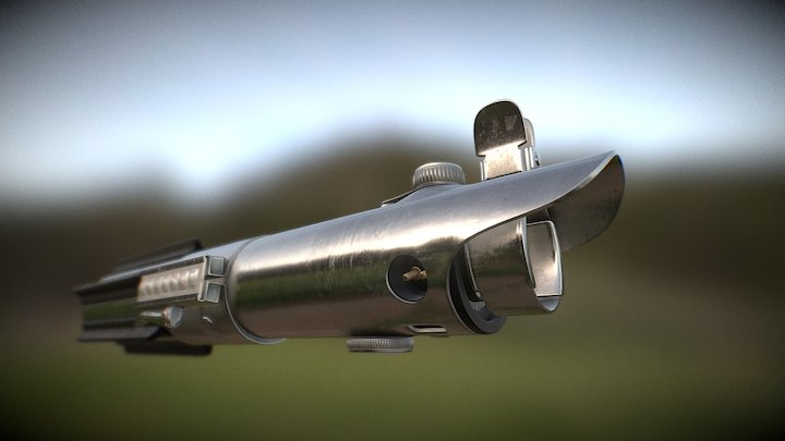 Luke Skywalker´s Lightsaber Replica 3D Model