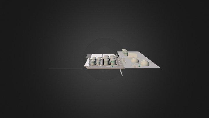 Uostas Bendras 3D Model