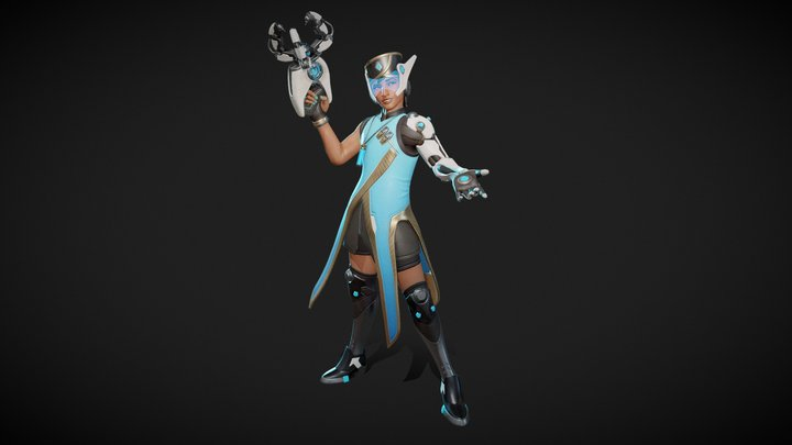 Symmetro - Overwatch Fan Art 3D Model