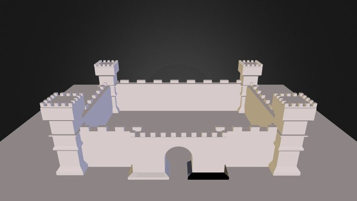 Castle_Modeling_Complete.blend 3D Model
