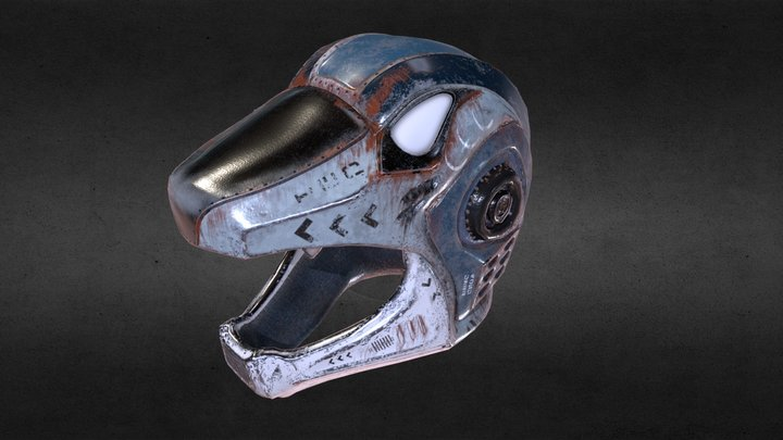 Ulysses Helmet 3D Model