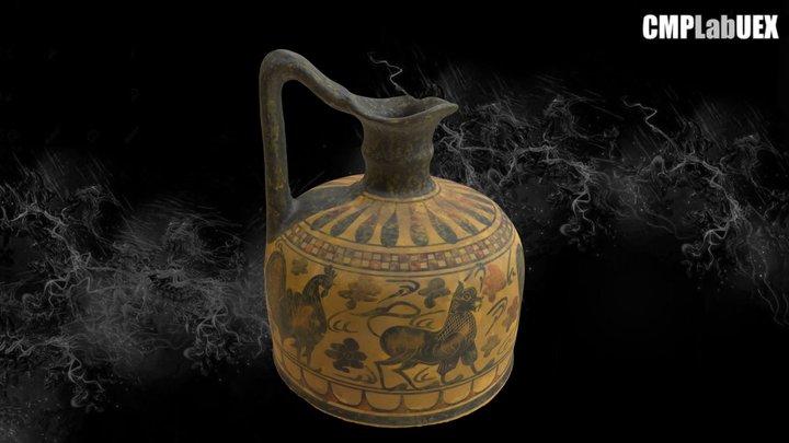 Vaso corintio 3D Model