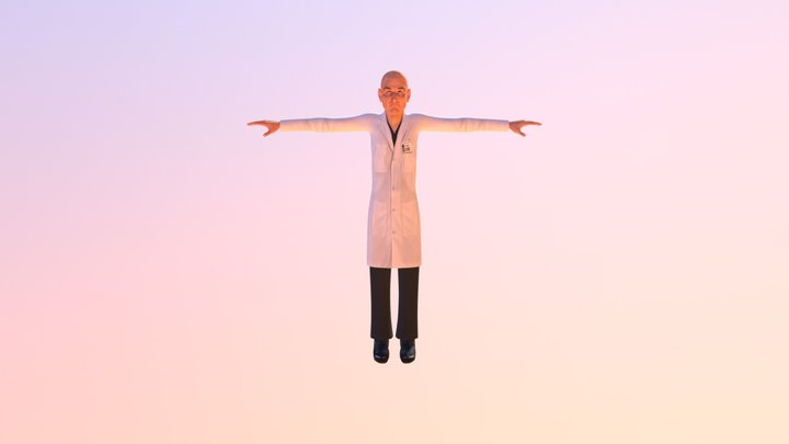 Old Doctor Final Unity 3D Model