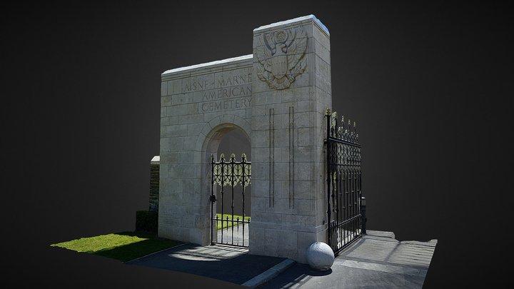 Entrance Gate 3D Model