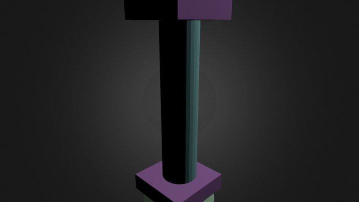 колонна 3D Model