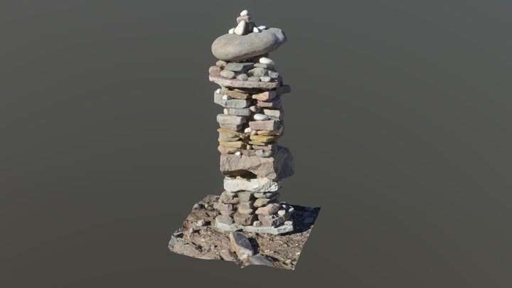 Rock pile - photogrammetry 3D Model