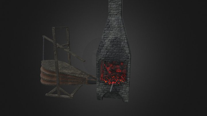 Forge And Bellow 3D Model