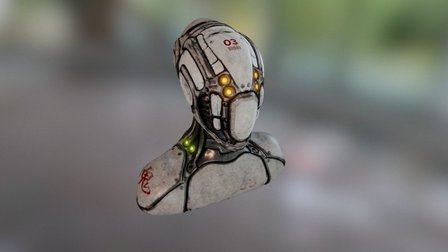 Android_suit 3D Model