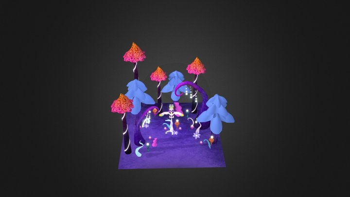 QIA - La pesadilla del sueño 3D Model