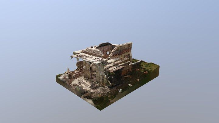 Oakland Cemetery - Comfort Station Construction 3D Model