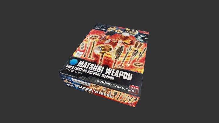 HGBC Matsuri Weapon 3D Model