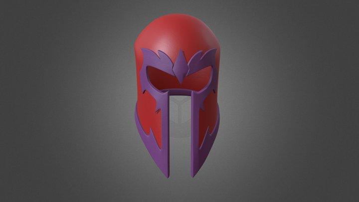 Capacete do Magneto 3D Model