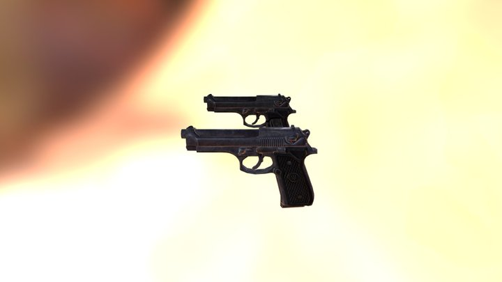 OLD 9mm free 3D Model