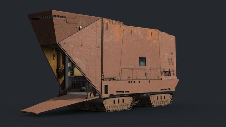 Sandcrawler 3D Model