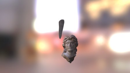 Greek Head Test 3D Model