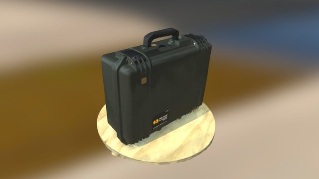 Pelican Case - 3D Scanning demonstration 3D Model