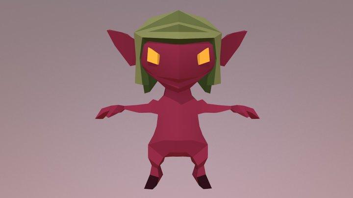 Imp Character 3D Model