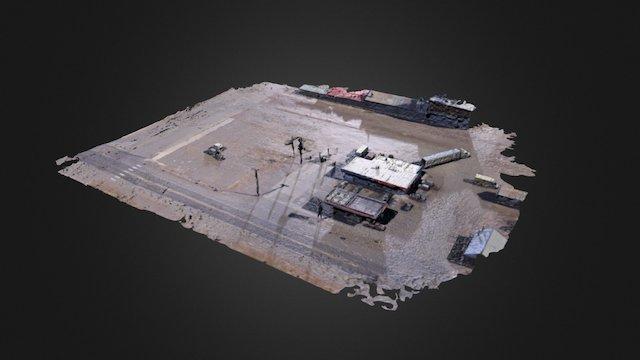 La Jara Alta Convenience 3D Model