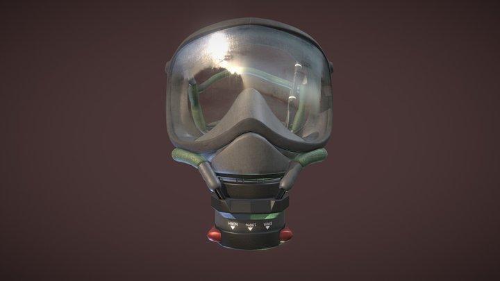 Oxygen Mask 3D Model