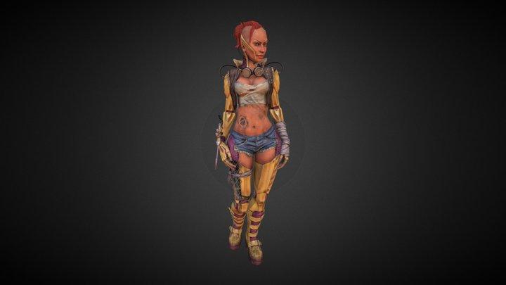 JC Cygirl 3D Model