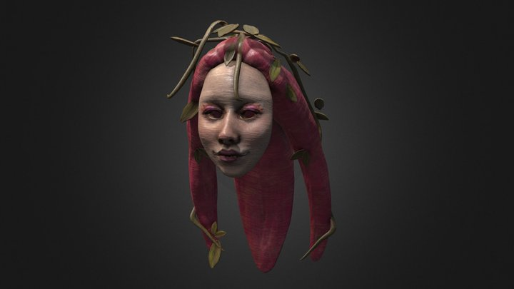 Great Fairy Mask 3D Model