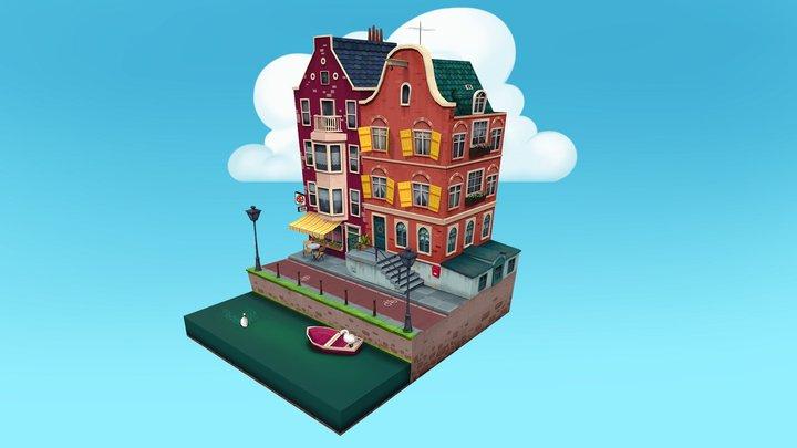 Amsterdam 3D Model