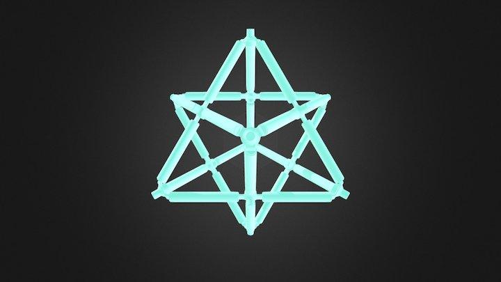 Star Tetrahedron (Dual) 3D Model