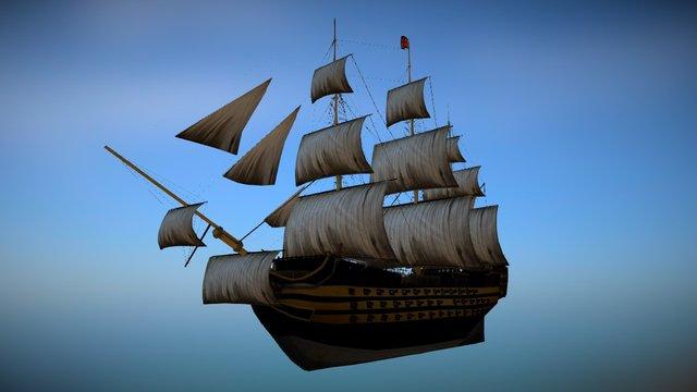 HMS_Victory 3D Model