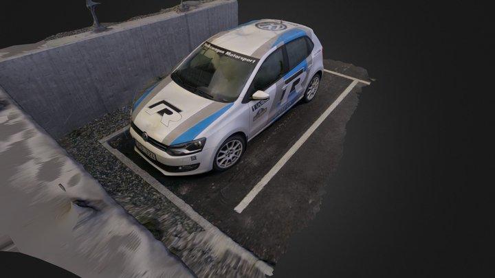 Volkswagen Polo R WRC Design 3D Model