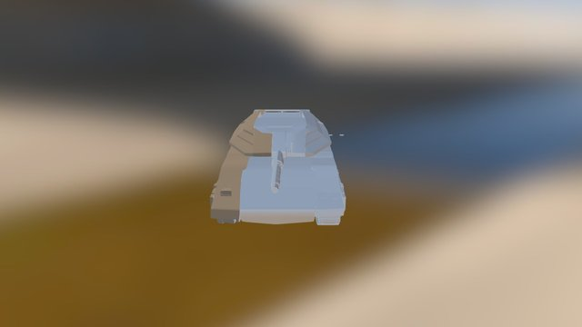 Merkava Mk4 3D Model