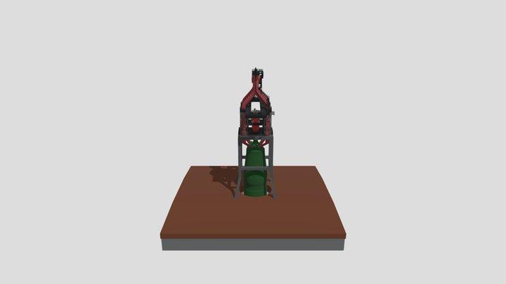 Heart of the Furnace 3D Model