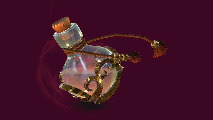 Healing Potion 3D Model