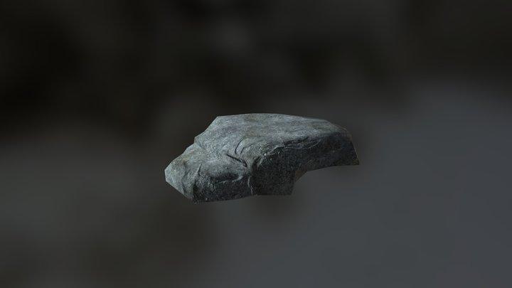 Flat Rock 01 3D Model