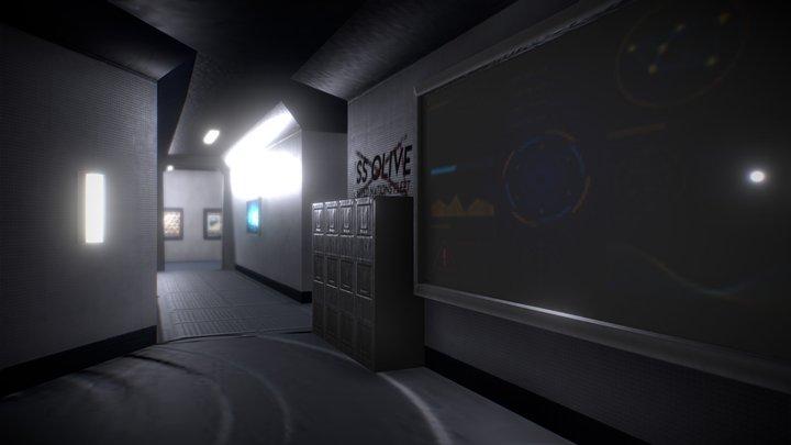 Space smugglers club house - Dark Version 3D Model