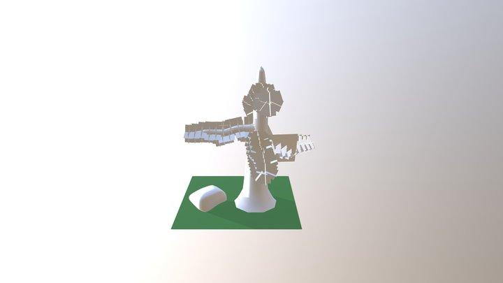 Environment Scene 3D Model