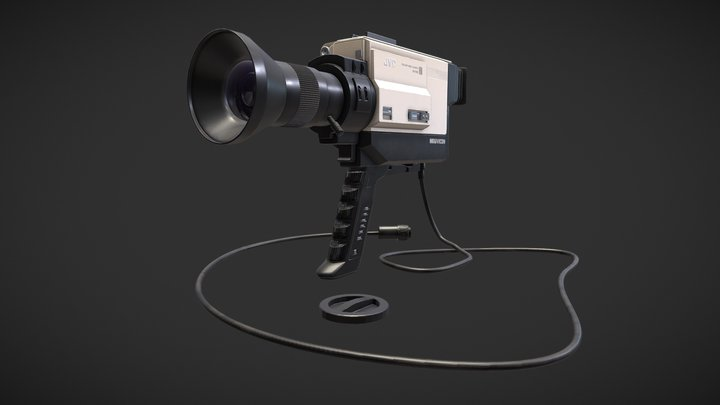 NEWVICON_JVC COLOUR_VIDEO_CAMERA_GX- N5E 3D Model