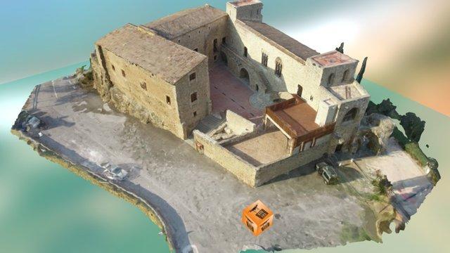 Castell Sant Martí Sarroca 3D Model