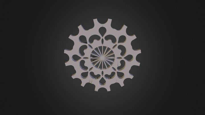 מנדלה מורן קוסקס 3D Model