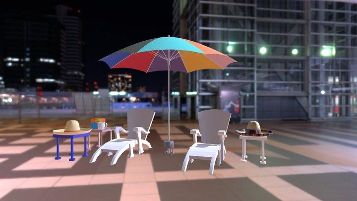 Parasolumbrella 3D Model