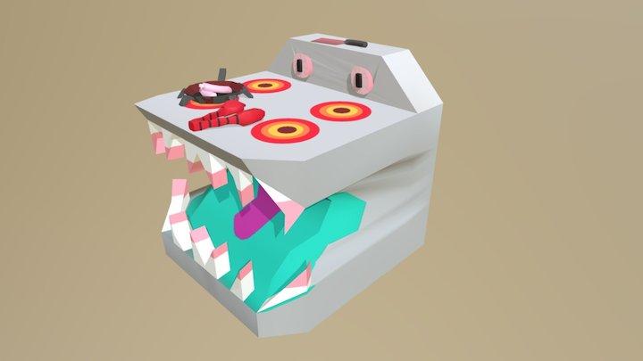 Kyle Fenn Kitchen Set 3D Model